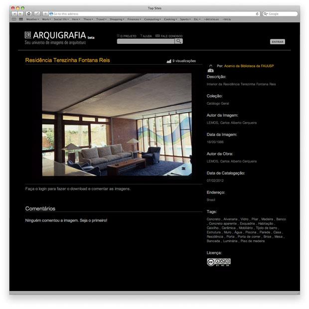 Arquigrafia - criação de identidade, ícones e layouts e programação do front-end