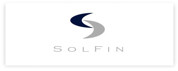 SolFin - criação de identidade visual e logotipo
