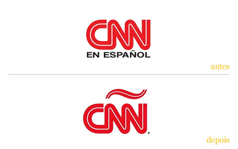 redesgin do logo cnn em espanhol