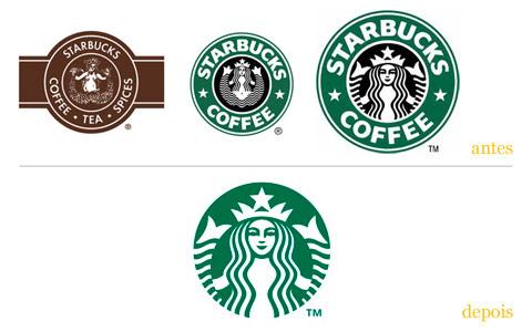 Redesgin do logo Starbucks