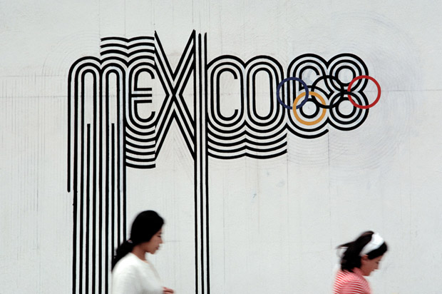 Identidade visual nas Olimpíadas de 1968 - México