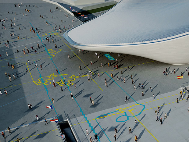 pictogramas olimpíadas 2012 espaço aberto