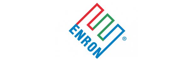 O desenvolvimento do logotipo da Enron custou $33,000