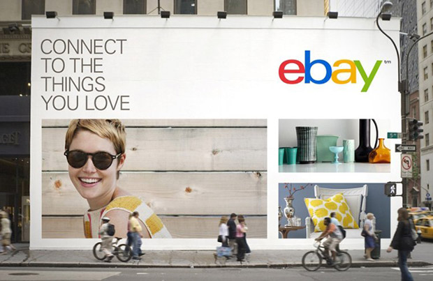 Redesign do logotipo do eBay - 2012