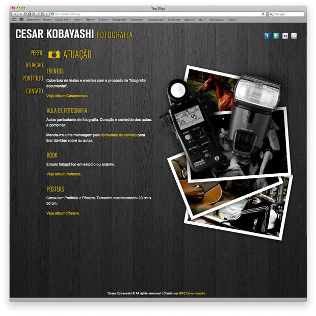 CK Fotografia - portfolio online - perfil