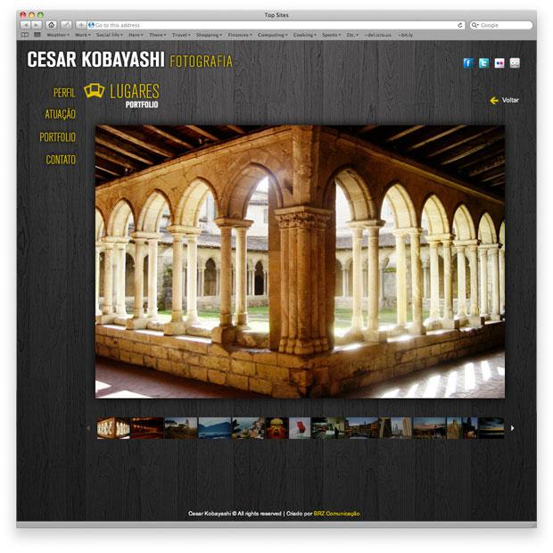CK Fotografia - portfolio online - página da fotografia