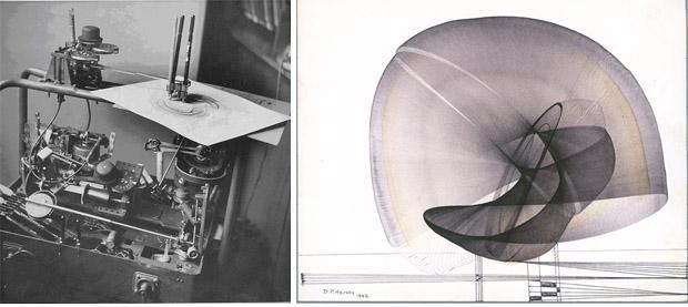 Drawing Machine e um de seus desenhos