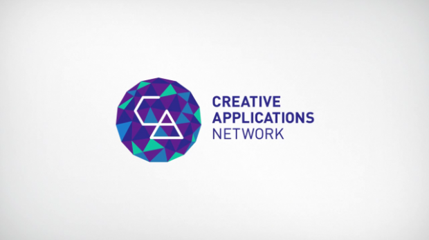 Logo criado em processing para a Creative Applications Network