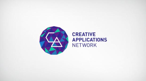 Logo criado em processing para a Creative Applications Network