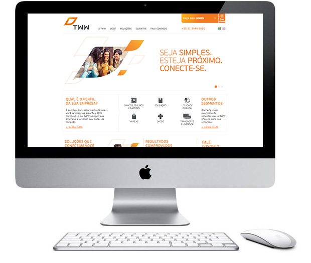 TWW - Home do site institucional