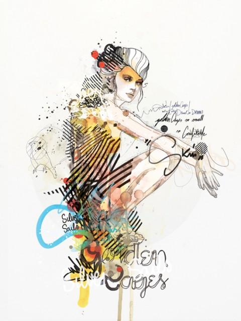 Referência de ilustração para design de Raphael Vicenzi - BRZ Comunicação